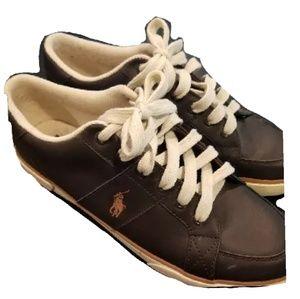 Ralp Lauren Sneakers Like New sz 10